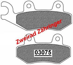 37078 Bremsbel/äge 4-teilig A.B.S